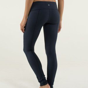 Lululemon Practice Daily Pant Inkwell Navy 6 Luon
